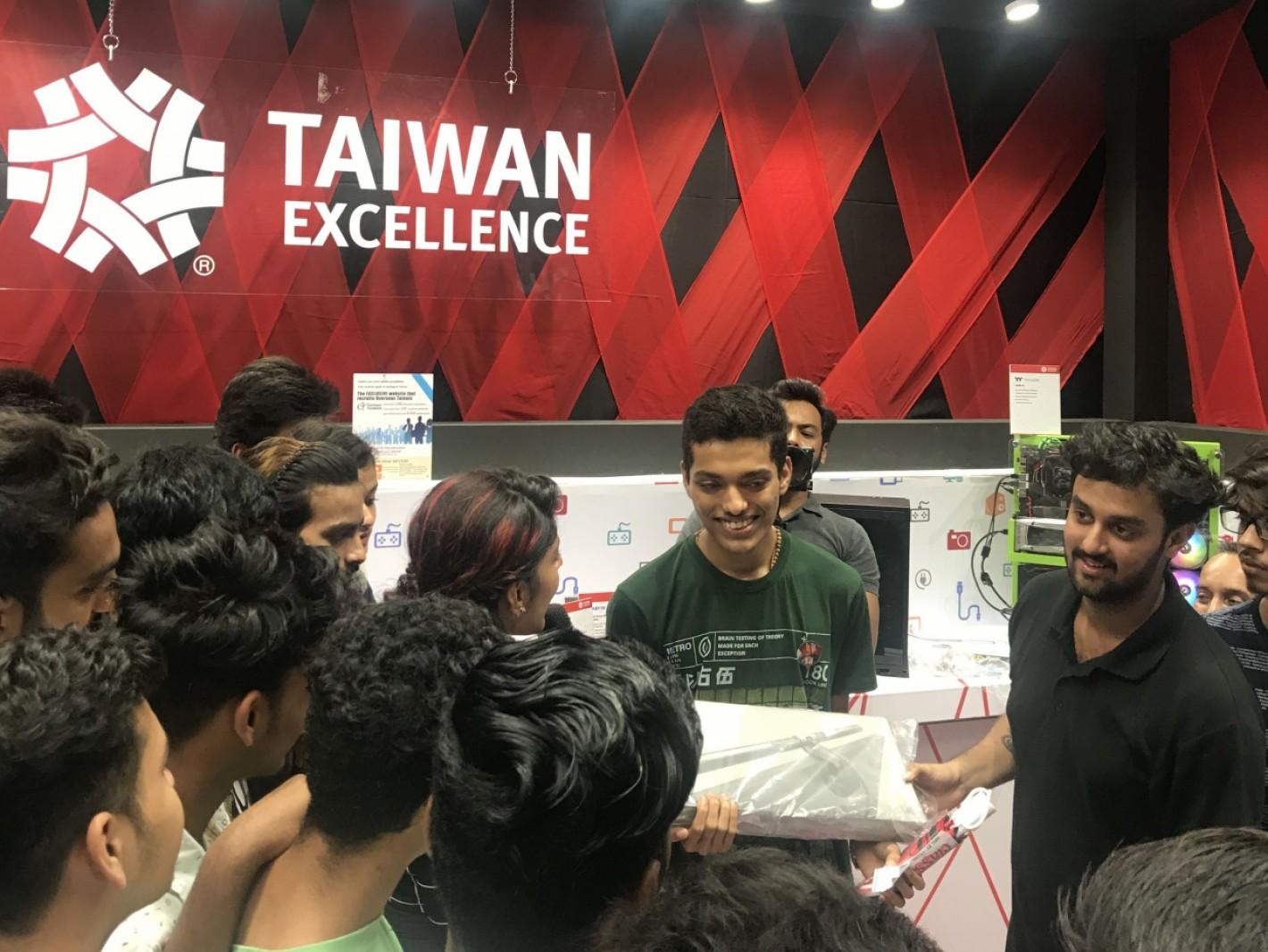 年輕族群對台灣精品活動及產品反應熱烈