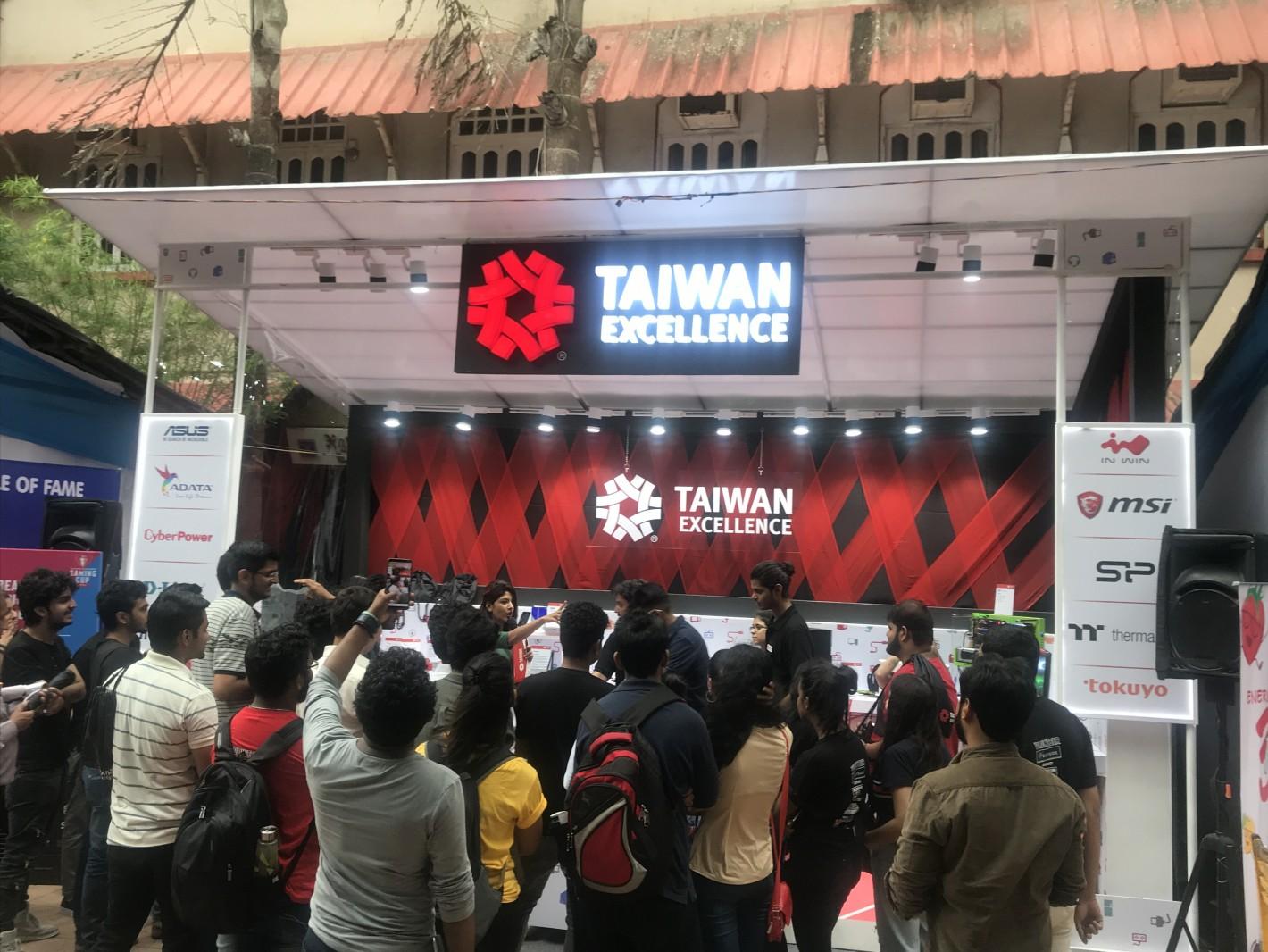 台灣精品在15日起在St. Xavier學院舉辦體驗活動