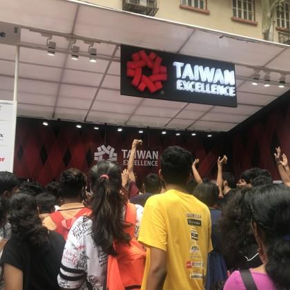 台灣精品在Malhar校園活動舉辦眾多互動活動