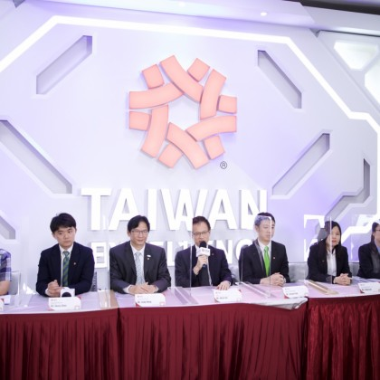 Company representatives answered questions
