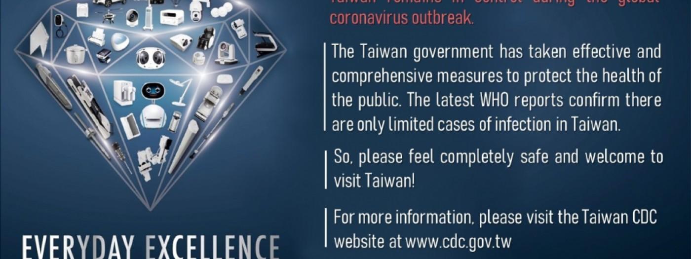 TAITRAは全力で新型肺炎の予防措置を講じています