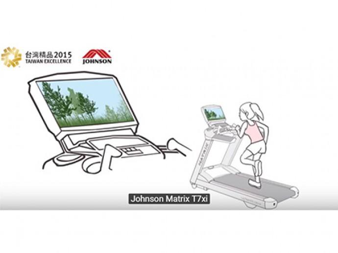 Johnson Health Tech Matrix treadmill