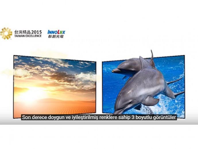 Innolux 100%NTSC High Color Gamut 4K2K LCD TV Module