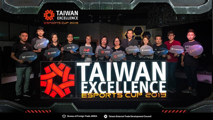 Taiwan Excellence Esports Cup 2019 Kick-off Press Conference