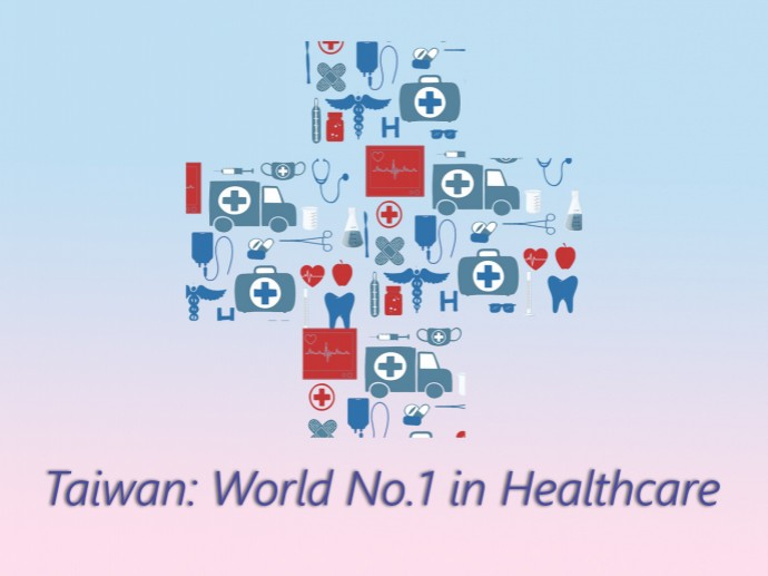 Taiwan: World No.1 in Healthcare