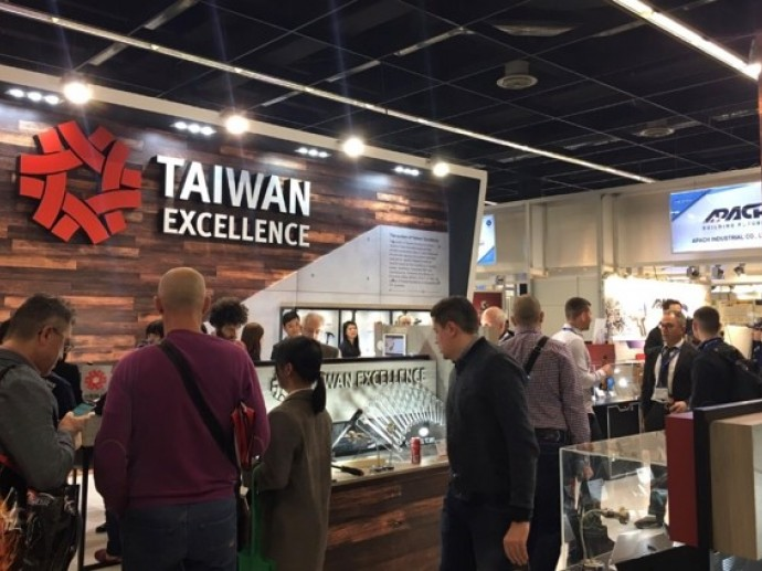 Taiwan Excellence Pitching Brand New Concept with Tool Supply Chain @ IHF Cologne