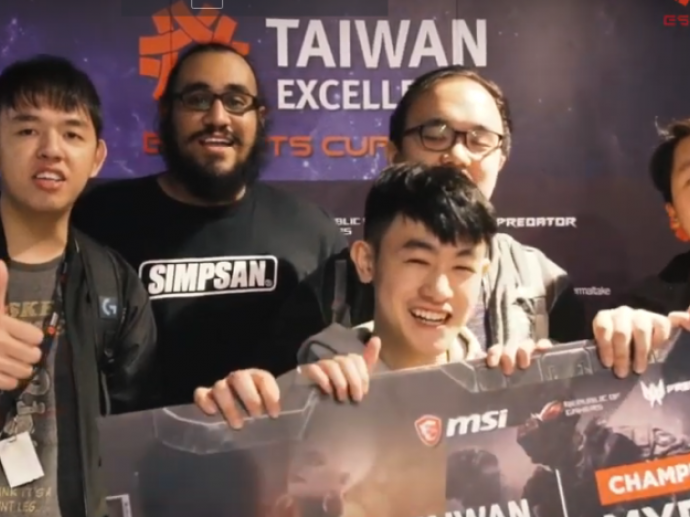 Taiwan Execellence Esport Cup 1st Lan Party @ The Pantheon, April 30