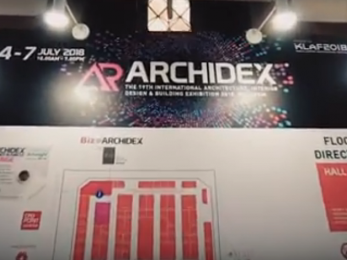 Taiwan Excellence Pavilion@ ARCHIDEX Expo 2018