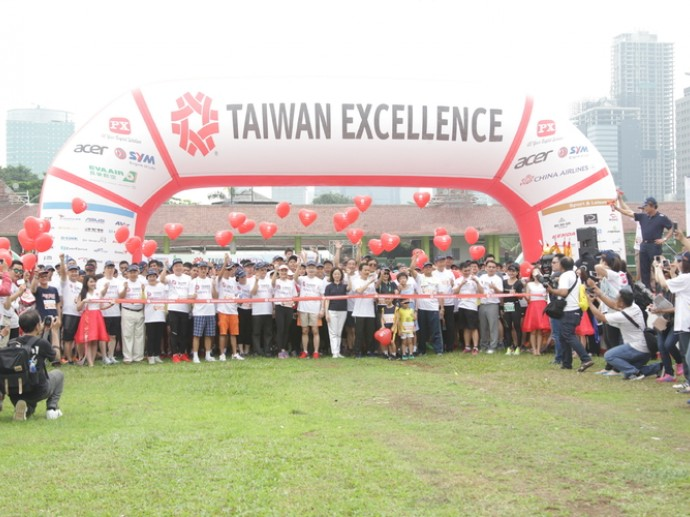 The 4th Taiwan Excellence Happy Run Continued to Support Children in Need with 3,500 Kindhearted Runners