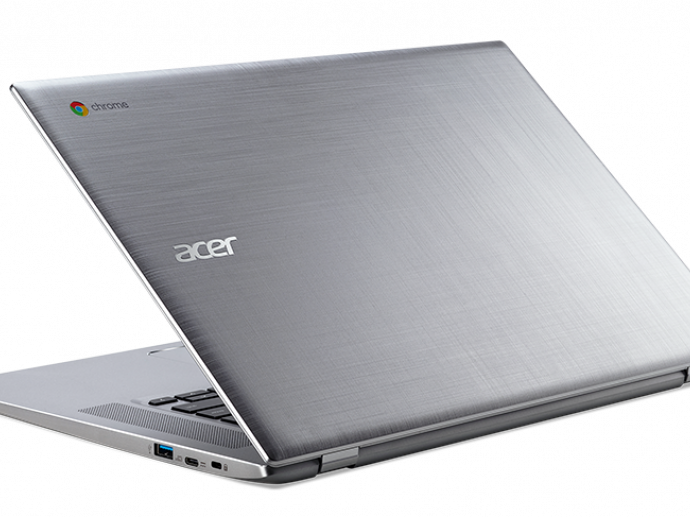 Acer Debuts Big-Screen Flexibility with  First 15-inch Convertible Chromebook