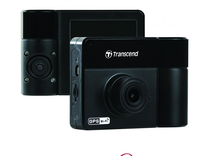 Transcend's DrivePro 550 Dashcam: Added Protection with Dual Lenses