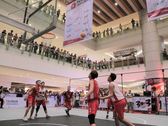 Young ballers set court ablaze at the Taiwan Excellence 3x3 Hoop Challenge 2019