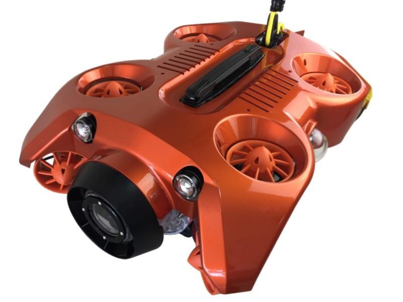 Seadragon 8 axis under water sonar robot