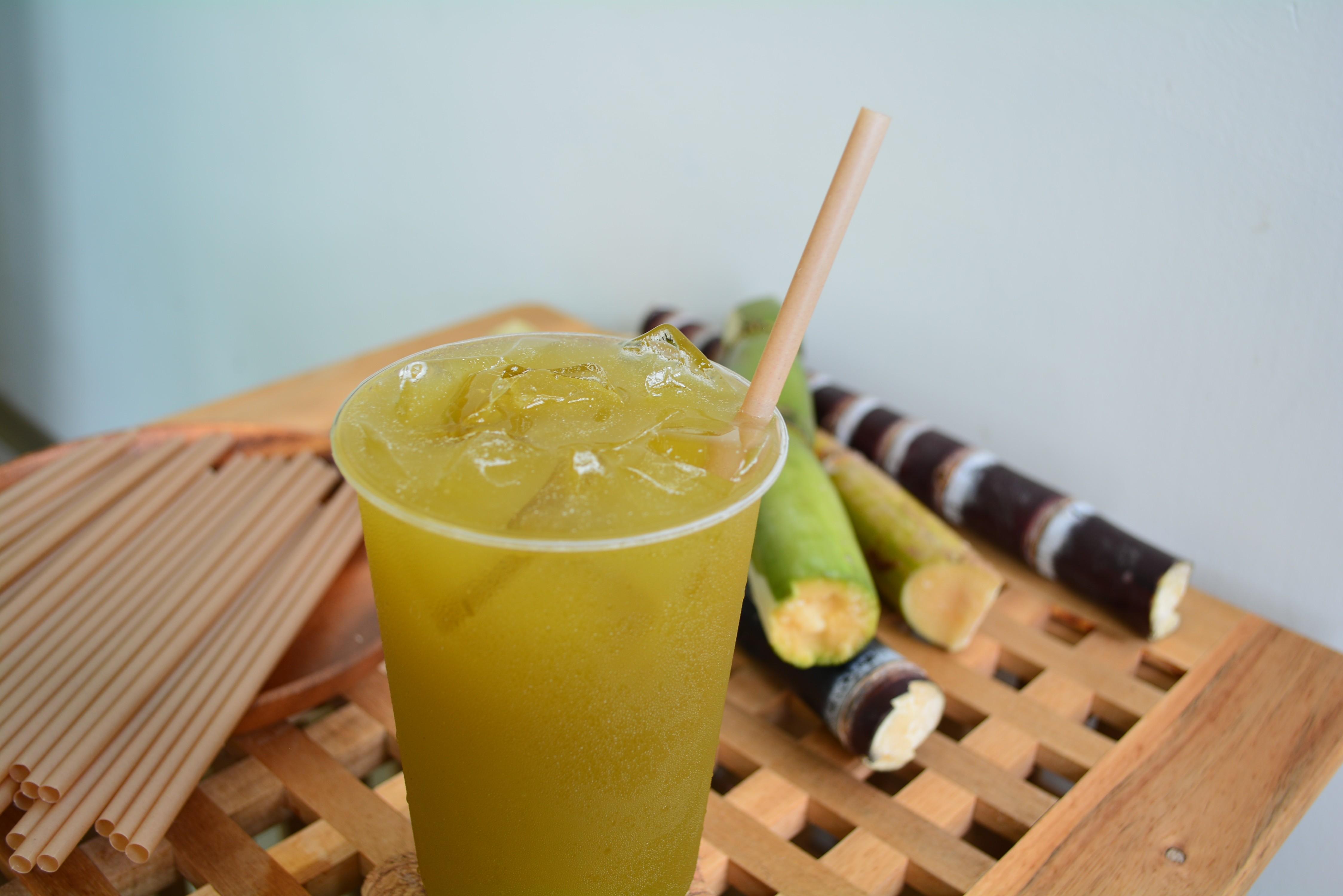Sugarcane straws