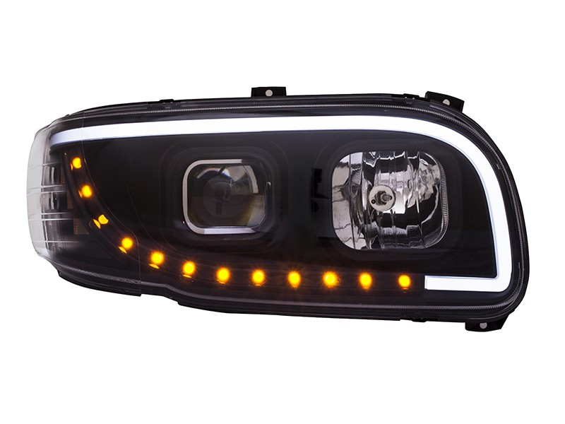 EAGLE EYES  commercial truck headlight with high performance led light bar / Eagle Eyes Traffic Industrial Co., Ltd.