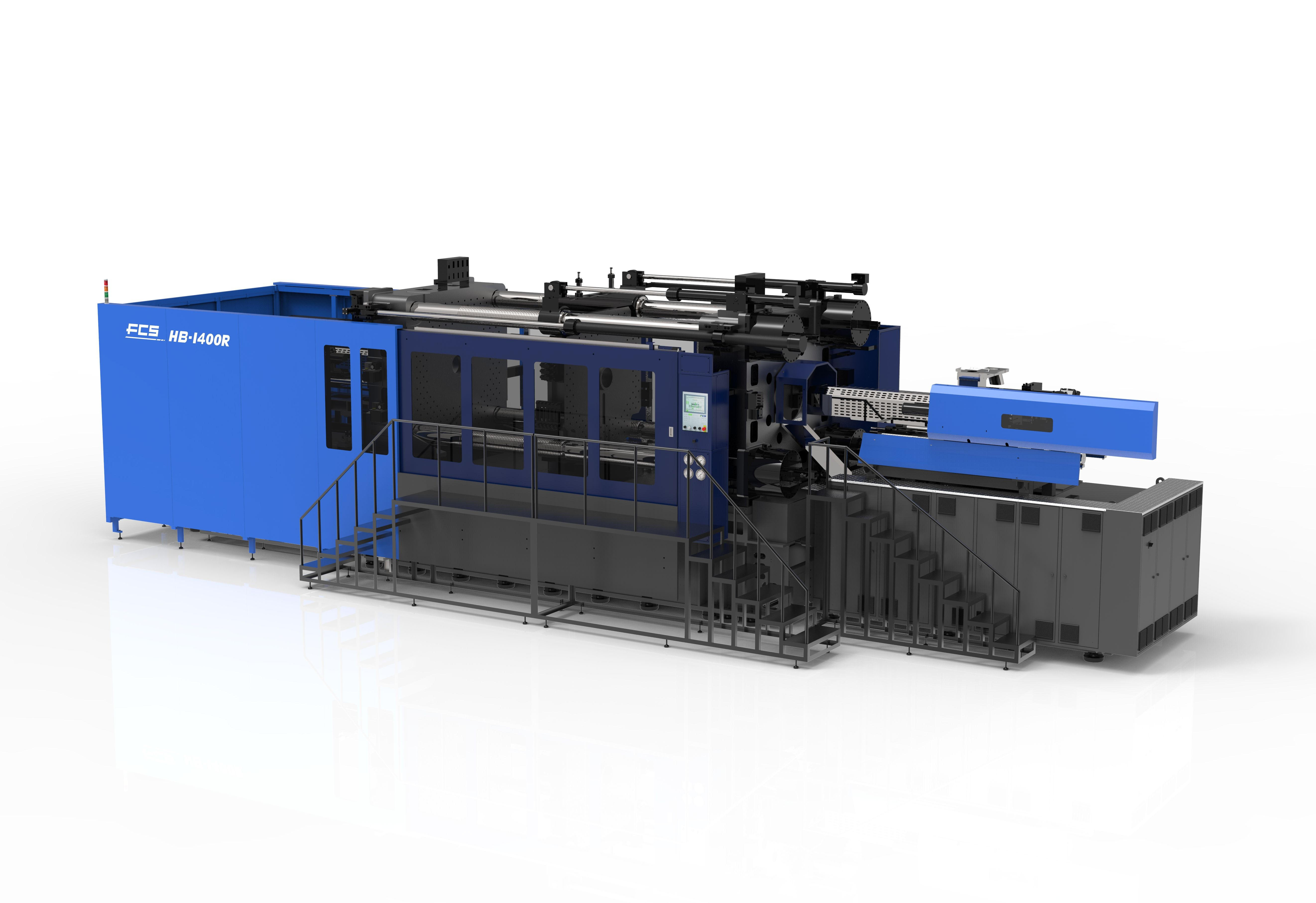 Horizontal Rotary Table Two-Component Injection Molding Machine