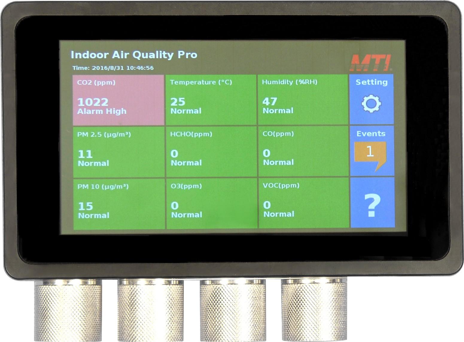 室內空氣品質監測器