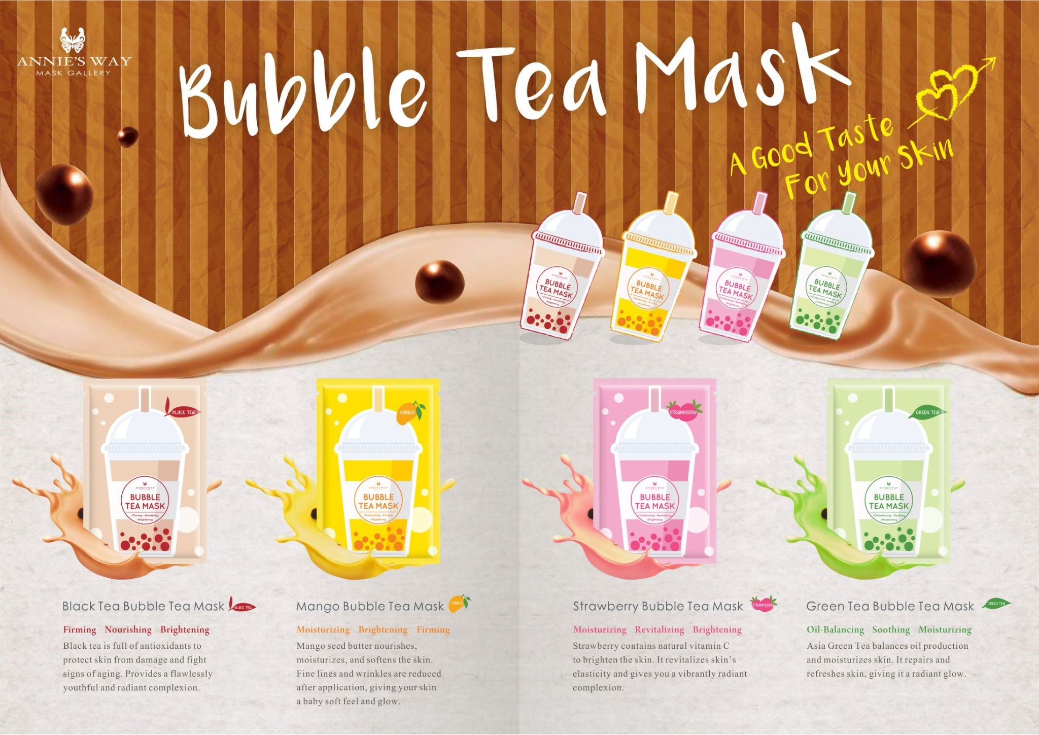 2018 Silver Oxide Skin-Friendly Mask Series