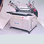 斜臂機械式自動退料平面網印機 / 東遠精技工業股份有限公司