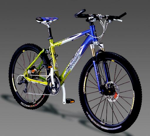 超靈敏式避震自行車 / 美利達工業股份有限公司