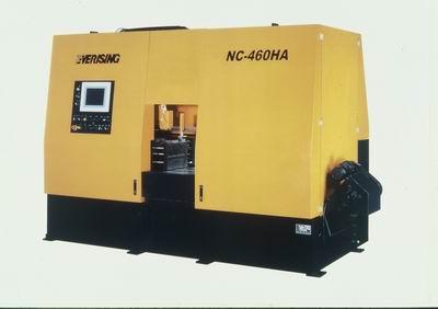 NC control high speed carbide tip blade cutting band saw / EVERISING MACHINE COMPANY
