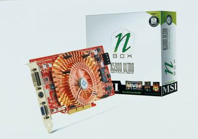 N5900 Ultra Graphics Card / Micro-Star International Company Limited