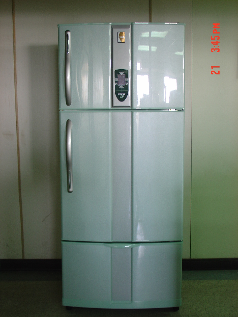 DC Inverter Control refrigerator / TECO ELECTRIC & MACHINERY CO., LTD.