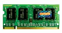 DDR2 Memory Module for NoteBook / Transcend Information, Inc.