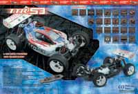 1/8TH EB4-S3 Nitro Powered 4WD Competition Buggy / THUNDER TIGER Corp.
