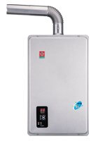 數位恆溫強制排氣熱水器 / 台灣櫻花股份有限公司