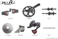 自行車27速變速系統 / 日馳企業股份有限公司