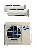 INVERTER SPLIT TYPE  ROOM AIR CONDITIONERS / TECO ELECTRIC & MACHINERY CO., LTD.