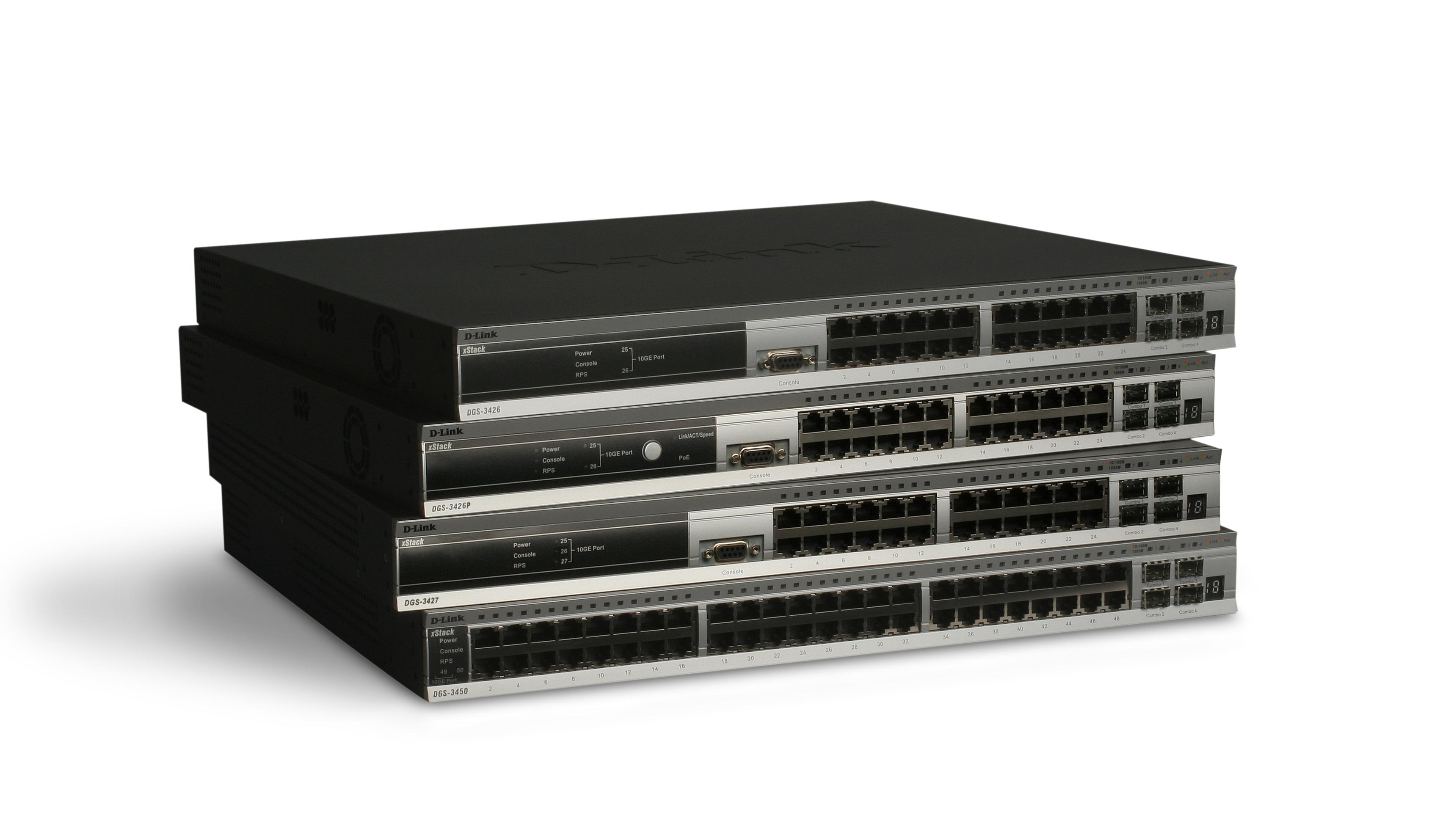 DGS-3600系列L3堆疊式 網管交換器