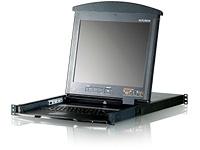 雙滑軌LCD KVM多電腦切換器 / 宏正自動科技股份有限公司