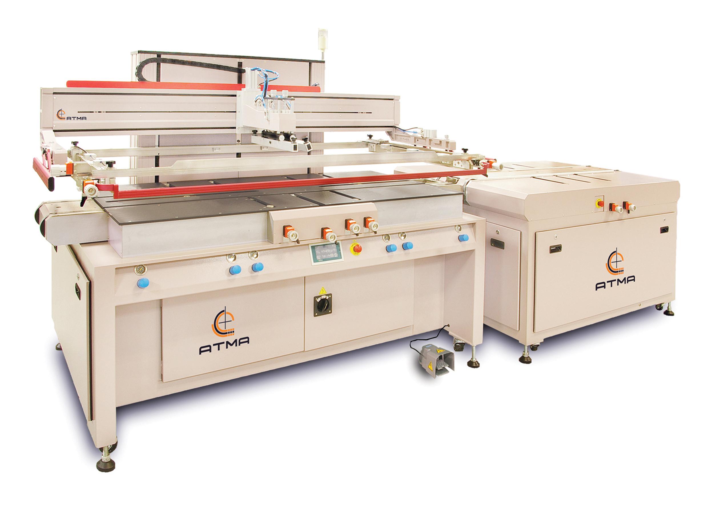 平板玻璃自動網印機