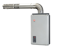 Digital Thermostatic Forced Balance Exhaust Gas Water Heater / TAIWAN SAKURA CORPORATION