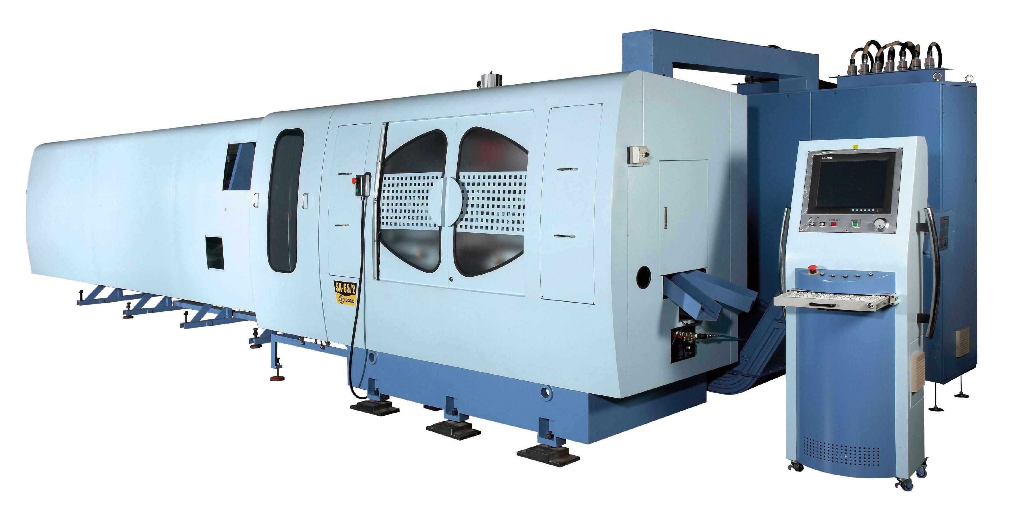 CNC 管棒複合加工機