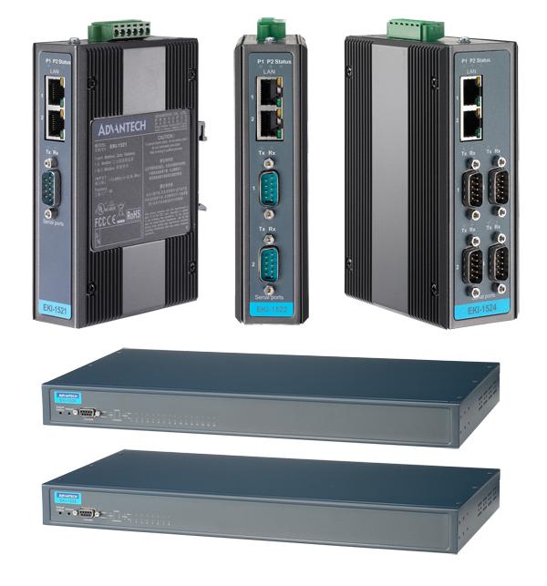 串列式設備伺服器 / 研華股份有限公司