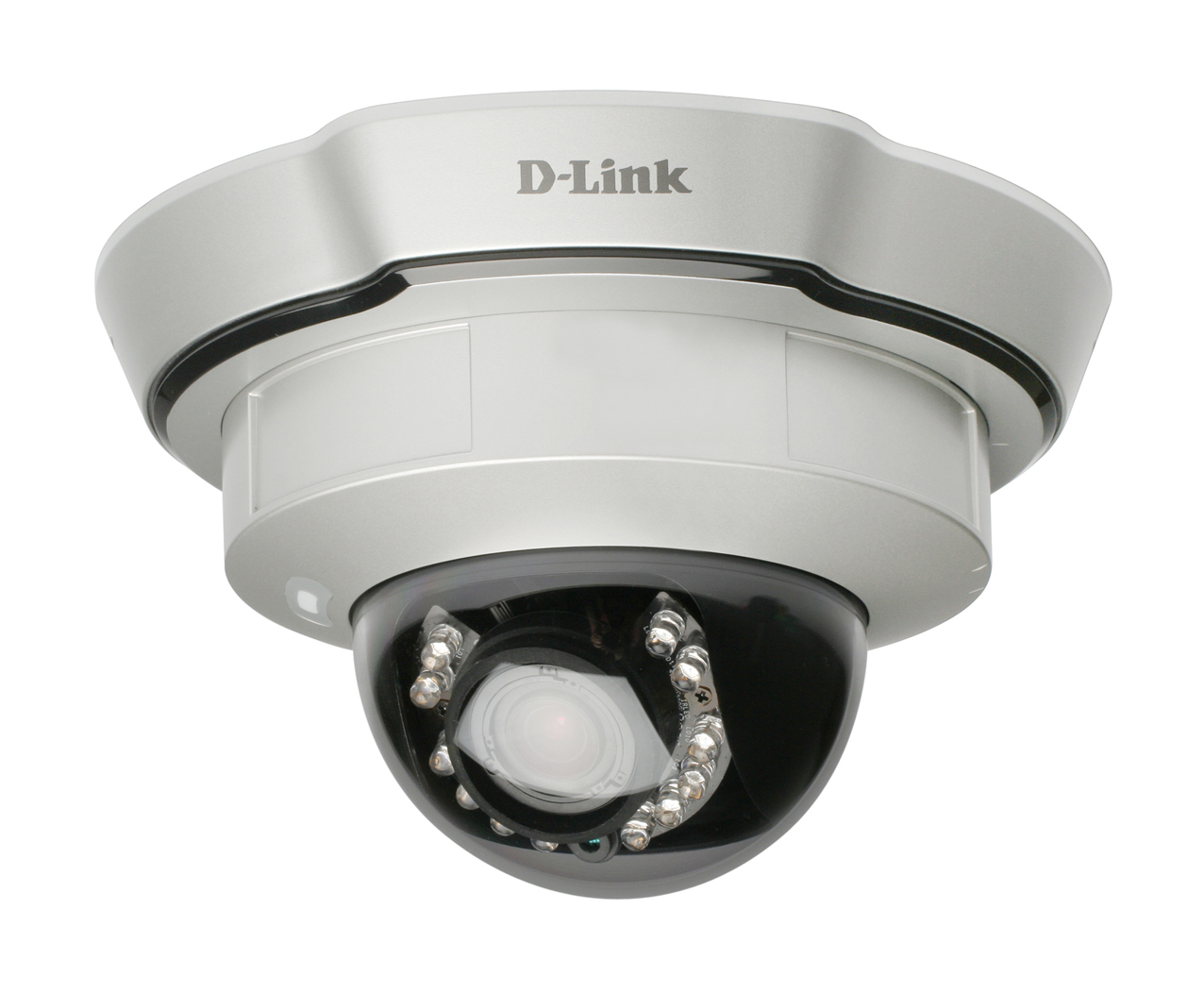 WDR Day & Night PoE fixed Dome Network Camera