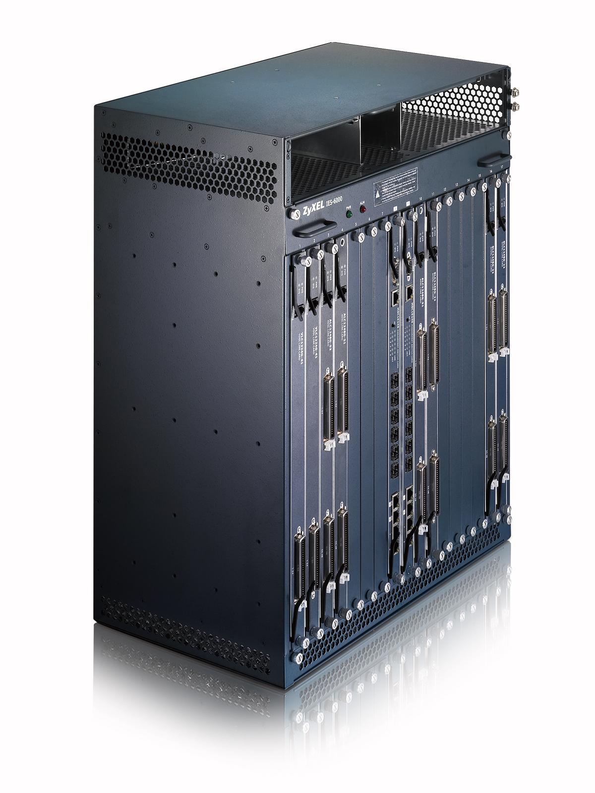 電信級模組化多重服務接取系統