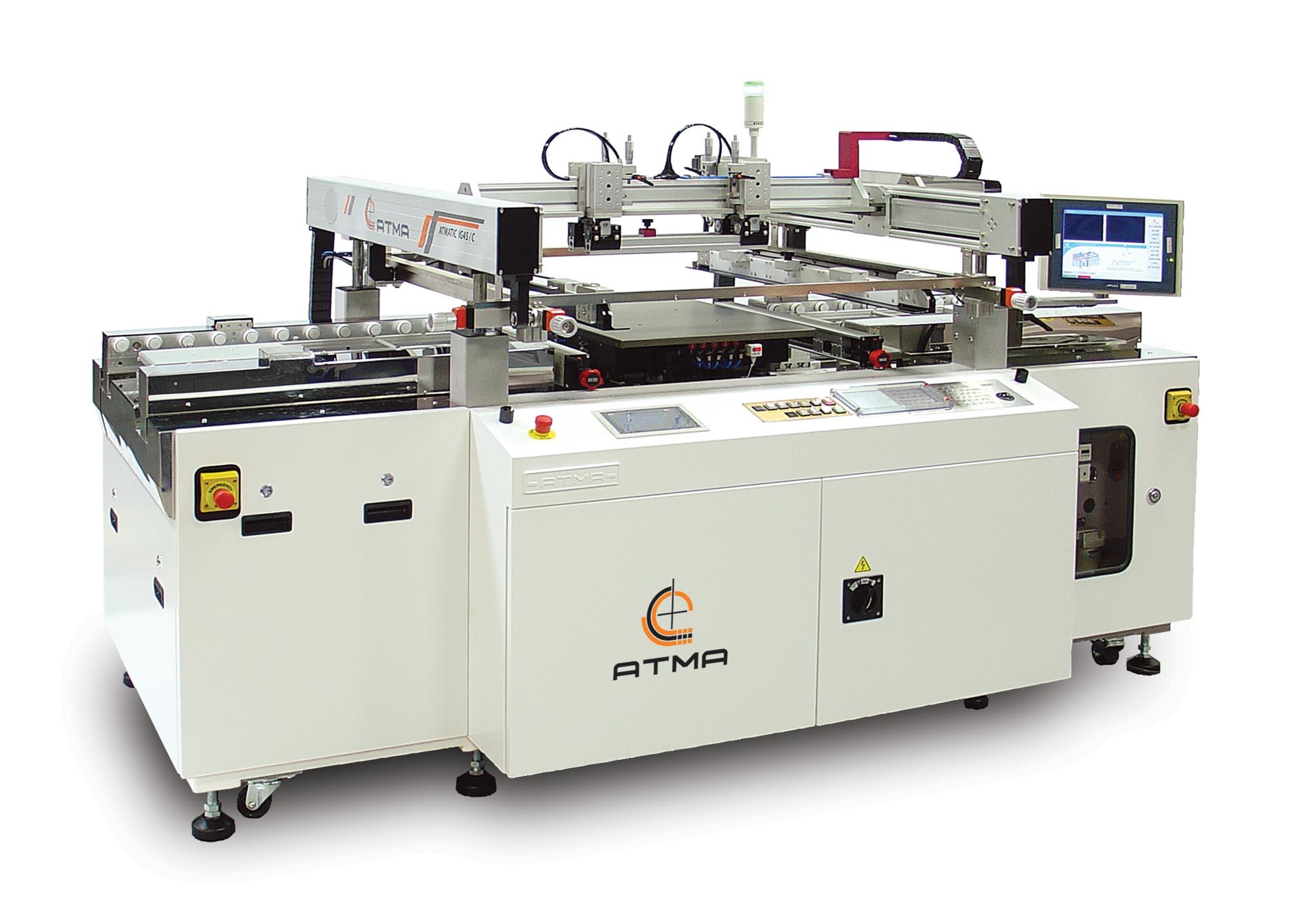 全自動對位光電玻璃網印機 / 東遠精技工業股份有限公司
