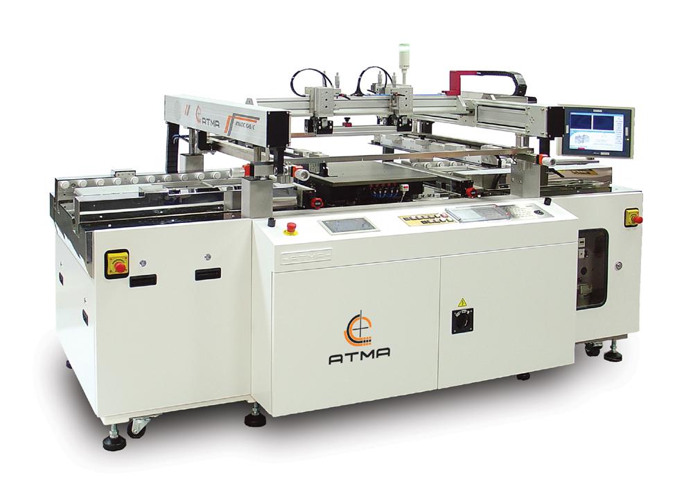 全自動對位光電玻璃網印機