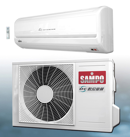 DC Spited type air conditioner Series / SAMPO CORPORATION