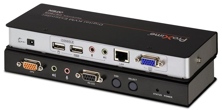 數位KVM訊號延長器 / 宏正自動科技股份有限公司