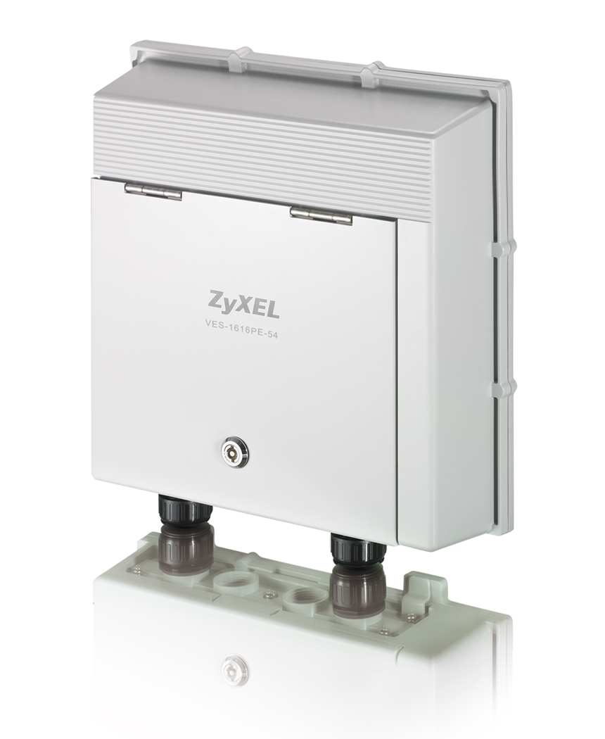 Environmental Hardened Remote DSLAM with GPON Uplink / Zyxel Communications Corporation