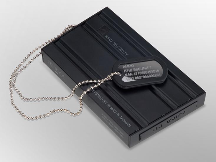 AMMO彈匣-2.5吋RFID軍事防震硬碟外接盒 / 迎廣科技股份有限公司