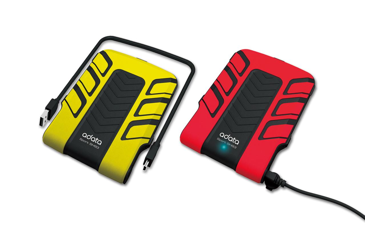 運動系列SH93外接式硬碟 / 威剛科技股份有限公司