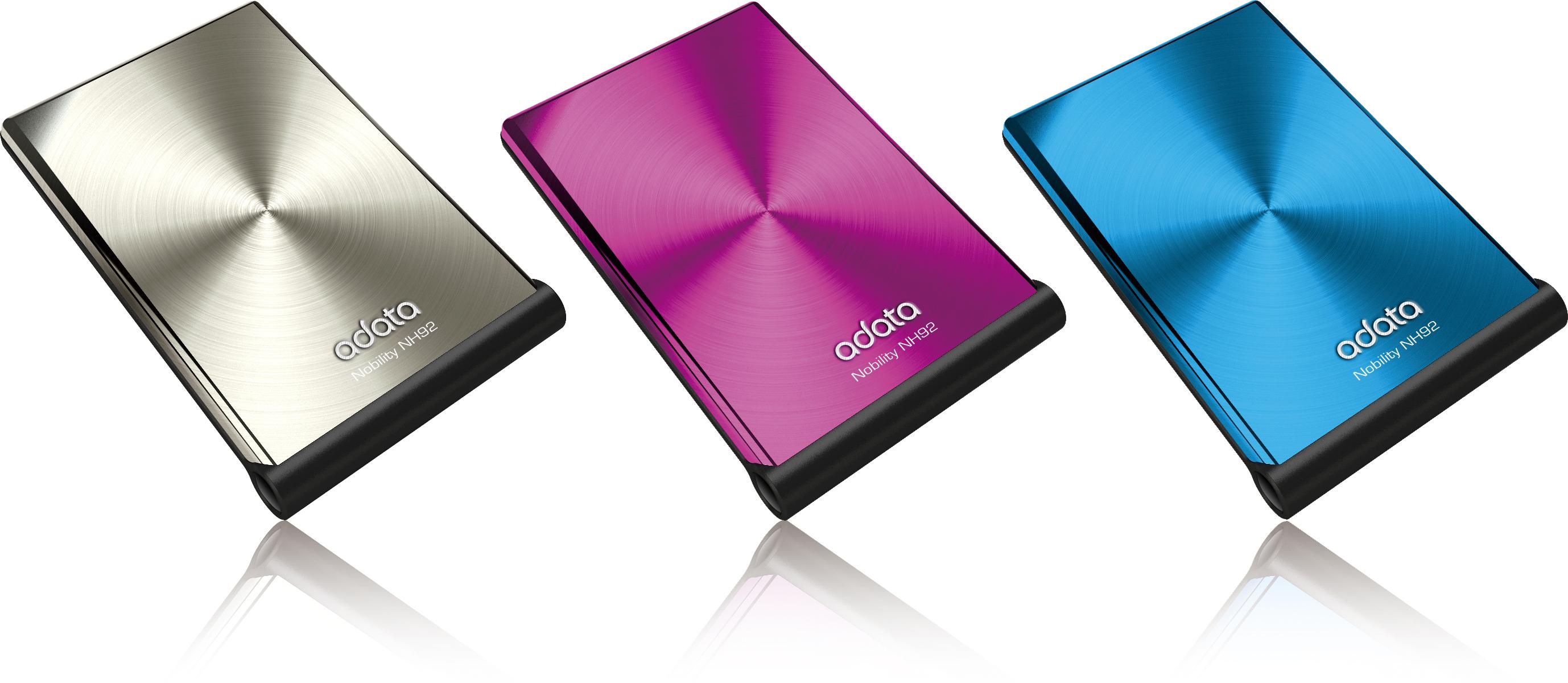 精品系列NH92外接式硬碟 / 威剛科技股份有限公司