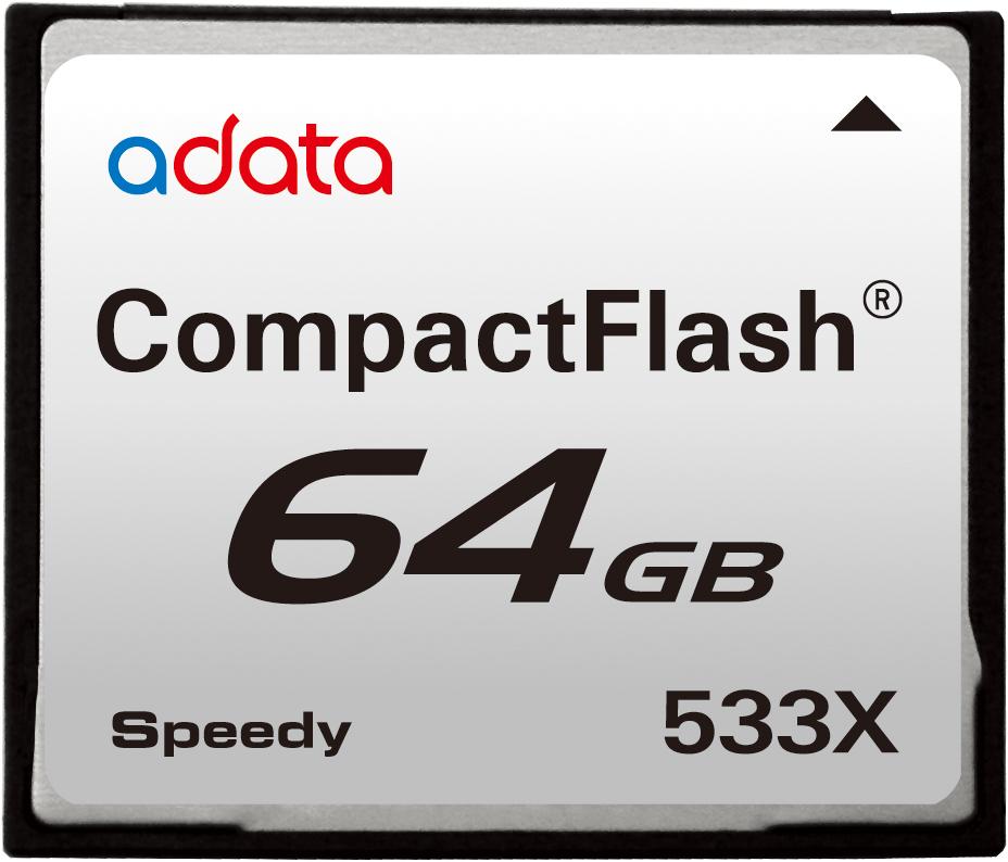 Speedy系列CF533X記憶卡 / 威剛科技股份有限公司