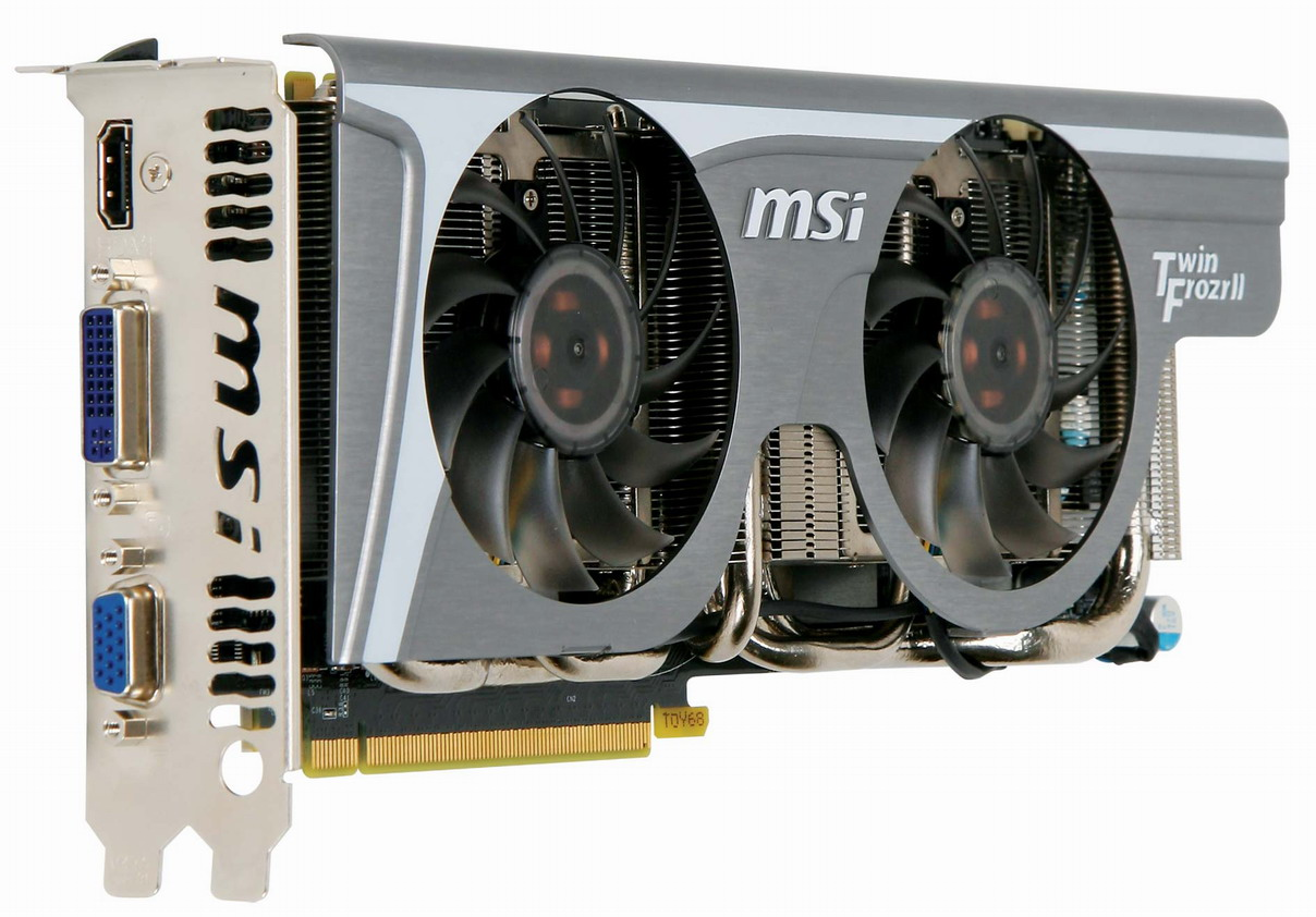Ultra quiet, low temperature and power, and high performance graphics card with military class components / MICRO-STAR INTERNATIONAL CO.,LTD.